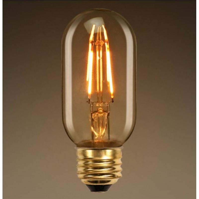 T10 E26 E27 4w Led Vintage Antique Filament Light Bulb: LED Edison Bulb T45