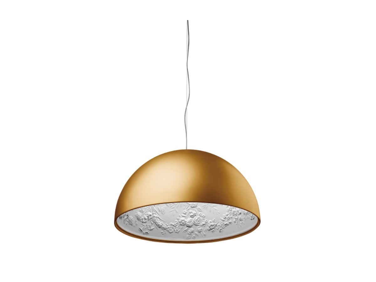 Floral pendant lamp gold aloadofball Image collections
